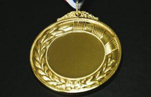 金(真鍮メッキ)メダル